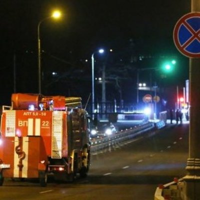 В Москве горел объект службы внешней разведки РФ