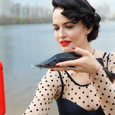 Даша Астафьева примерила соблазнительное боди за 6 тысяч гривен (фото)
