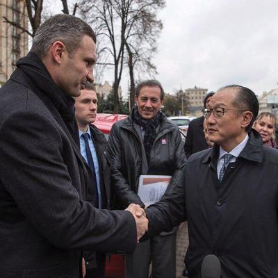 На встрече с Кличко глава Всемирного банка отдал должное реформам, которые воплощаются в Киеве