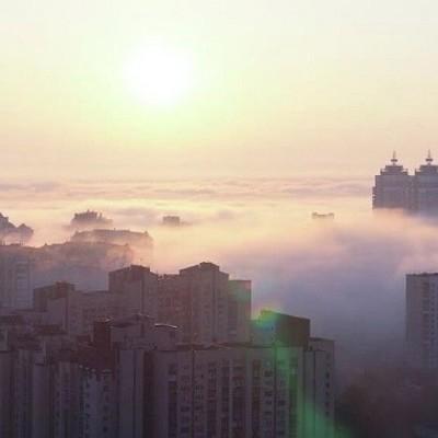 Киевлян предупреждают о густом тумане 14 ноября