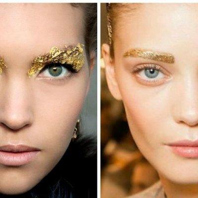 Самый популярный новогодний макияж
