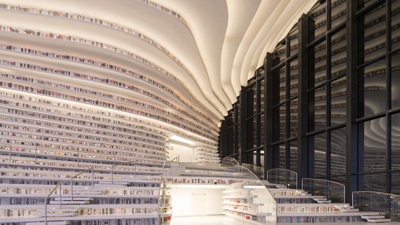 Неповторимое строение: открыли библиотеку на млн книжек 10