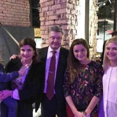 Визит Порошенко с семьей в столичный ресторан взбудоражил сеть (фото)