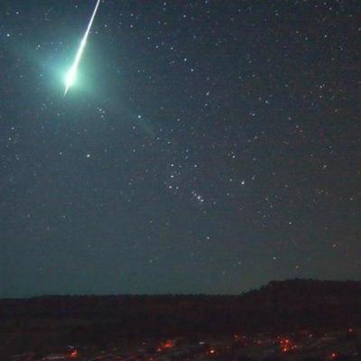 Невероятно: падение метеорита осветило целый город