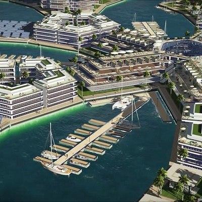 в Тихом океане появится плавучий город «Свободных людей» (фото, видео)