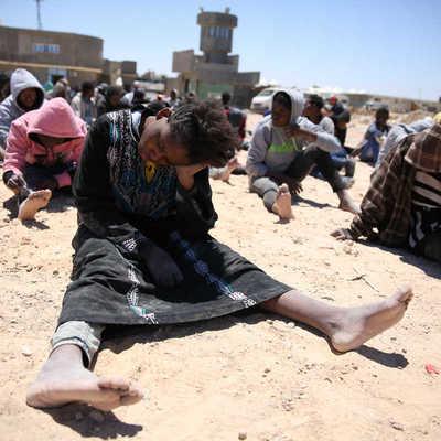 Украинцев шокировал «рынок рабов» в Ливии (видео)