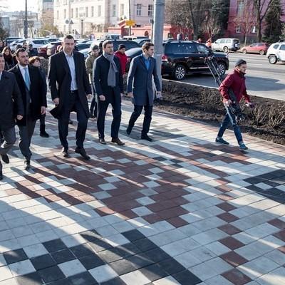 Кличко: Капитальный ремонт ул. Владимирской, по плану, будет завершен в следующем году