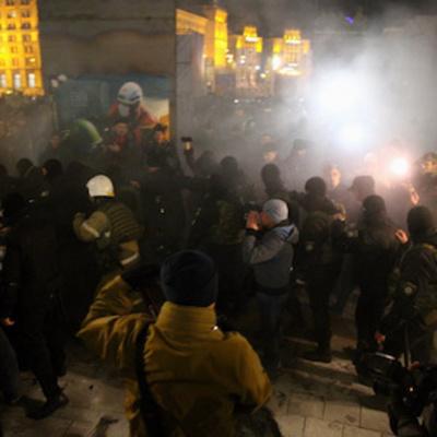 В Киеве на Майдане произошла потасовка