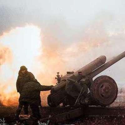 Боевики из тяжелой артиллерии обстреляли позиции ВСУ возле Луганского - штаб
