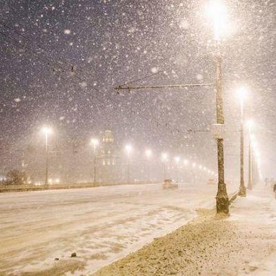 На Украину надвигается конкретная зима
