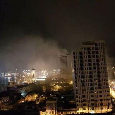 В гостинице в Батуми произошел пожар: погибли 12 человек