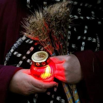 На Сумщине вандалы повредили памятник жертвам Голодомора
