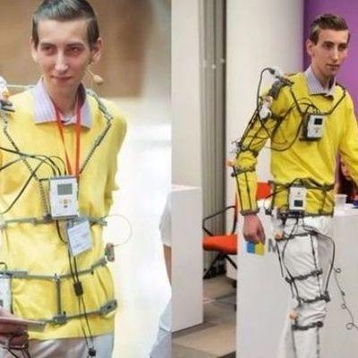 Украинец создал экзоскелет для поврежденных конечностей