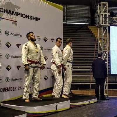 Украинец Настенко стал чемпионом мира по джиу-джитсу (фото)