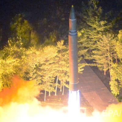 Северокорейская ракета пролетела 1000 км и упала недалеко от Японии