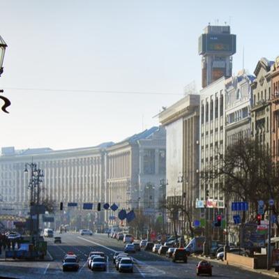 Движение транспорта в центре Киева ограничили до конца января из-за праздников, - КГГА