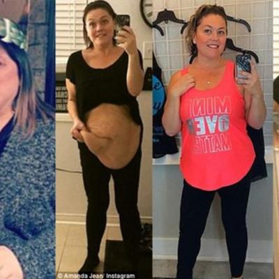 Раньше не могла даже надеть носки: мать троих детей похудела на 68 кг