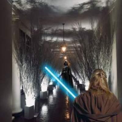В сети хохочут над новогодним украшением Белого дома Меланией Трамп