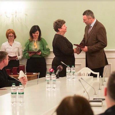 Кличко вручил выдающимся киевлянам государственные награды