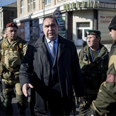 В Луганске террористы освободили дом, который занимала охрана Плотницкого