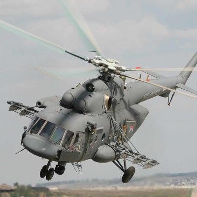 В России упал вертолет