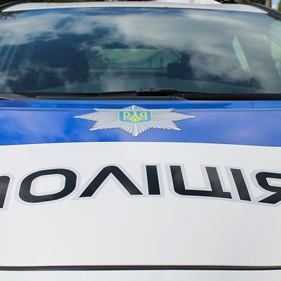 В Харькове взорвали автомобиль с полицейским