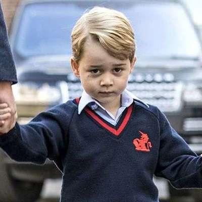 Принц Джордж исполнил роль барашка в школьном рождественском спектакле