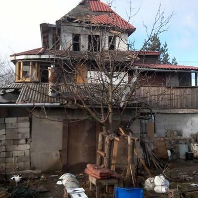 Боевики на Донбассе обстреляли дома мирных жителей Водяного