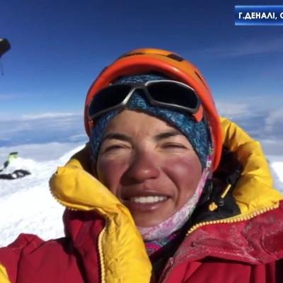 Украинка впервые покорила семь высочайших вершин мира