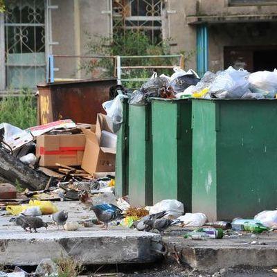 В столице возле мусора нашли мертвого мужчину