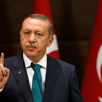 Нападение на президента Турции (видео)