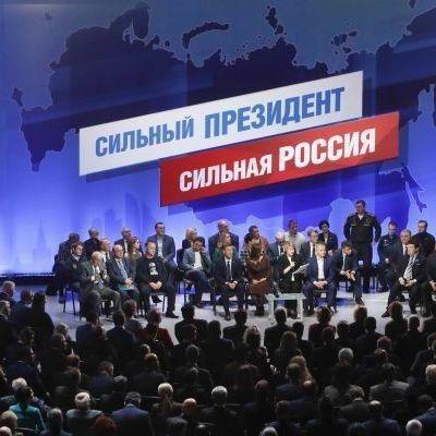 В России Путина выдвинули кандидатом в президенты