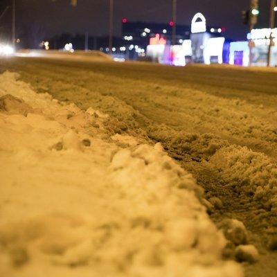«Киевавтодор» тратит более полутора миллионов гривень в день на борьбу со снегом