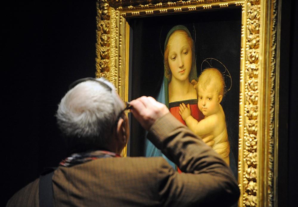 ВВатикане были найдены последние работы Рафаэля