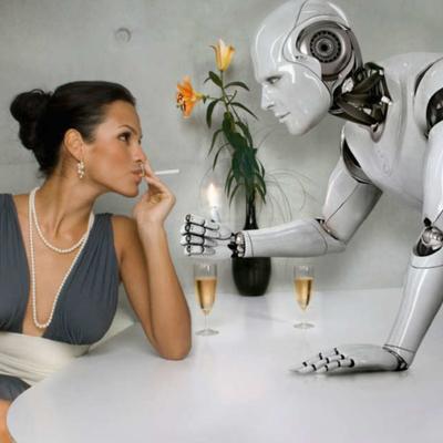Японский робот попытался изнасиловать женщину