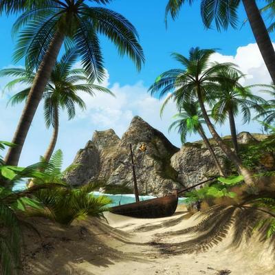 В Карибском море сдается в аренду необитаемый остров (фото)