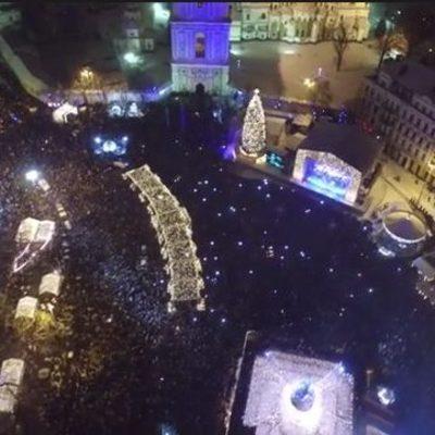 Спасатели рассказали, как киевляне встретили Новый год