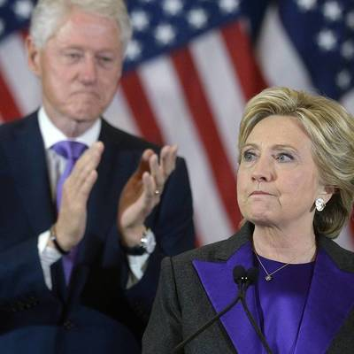 В США в доме супругов Клинтон произошел пожар