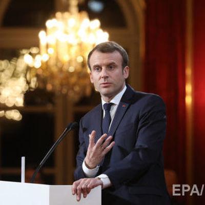 Макрон предложил изменить законодательство Франции для борьбы с фейковыми новостями