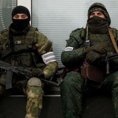 В Горловке боевики протаранили маршрутку с пассажирами
