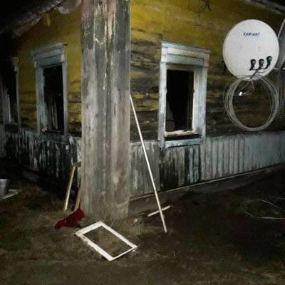 На Житомирщине в результате пожара погибло 2 детей (фото)