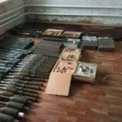 На Луганщине в пенсионерки обнаружили мощный арсенал оружия