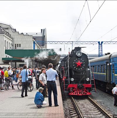 Вокруг Киева два дня будет ходить экскурсионный ретро-поезд
