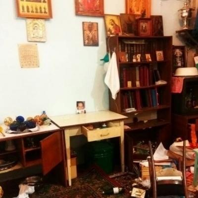 На Одесчине ограбили и осквернили храм Московского патриархата (фото)