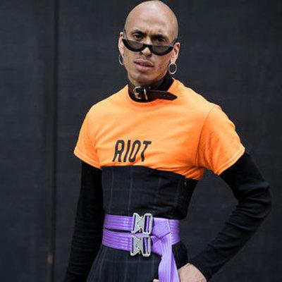 Смелые образы на мужской Неделе моды в Лондоне