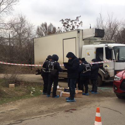 В Запорожье расстреляли бизнесмена (фото)