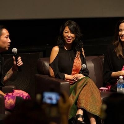 Анджелине Джоли приписывают роман с камбоджийским режиссером Прачем Ли
