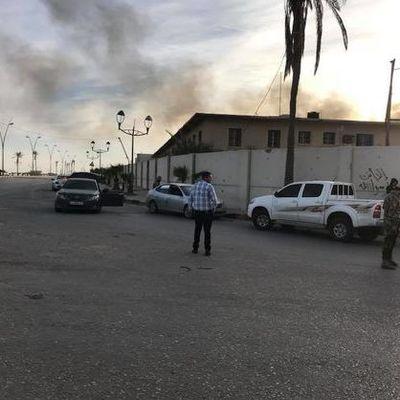 Нападение боевиков на международный аэропорт в Триполи: 20 погибших