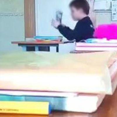 «Наш класс жил мирно без тебя»: в Запорожье показали урок с агрессивным учеником