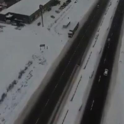 Под Киевом открылись пункты обогрева на автодорогах международного значения